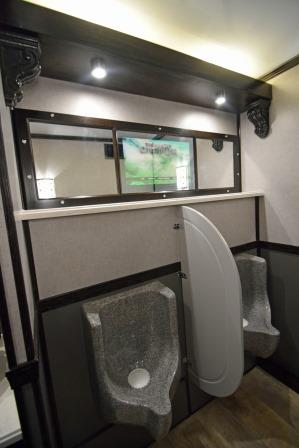 Portable Restroom Trailers Mens