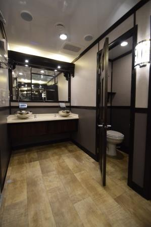 Portable Restroom Trailers Open